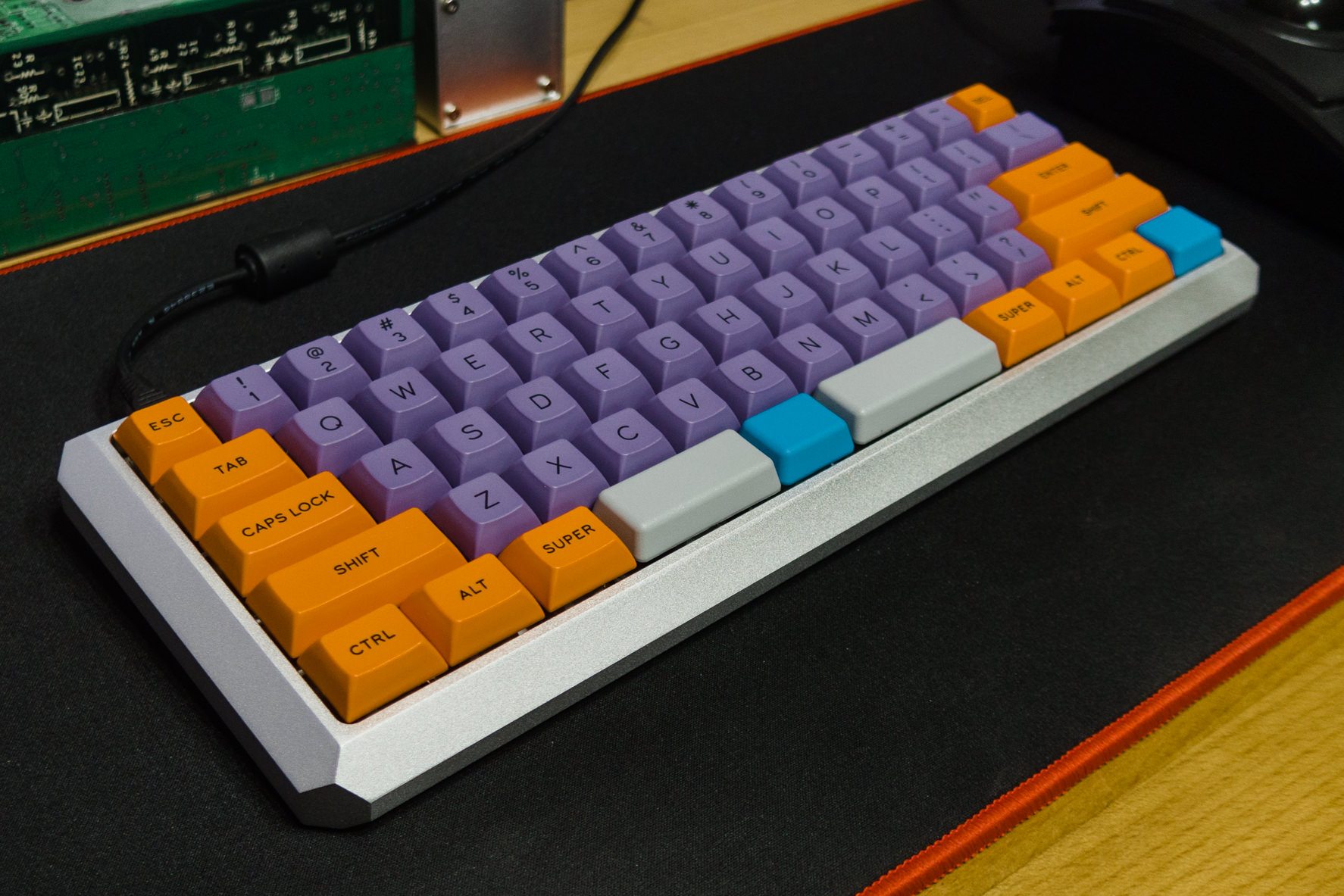 GB]KBDfans 5° 60% aluminum case ---All orders are shipped